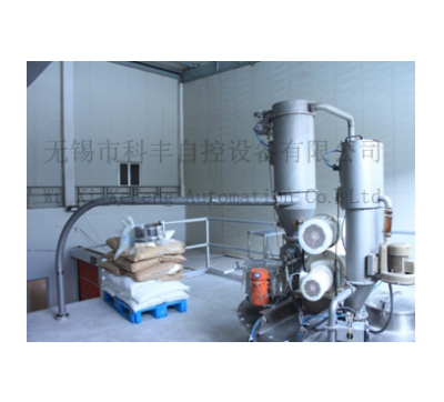 Pneumatic conveying equipment in food processing industry