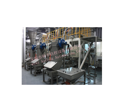 Material feeding and pneumatic conveying