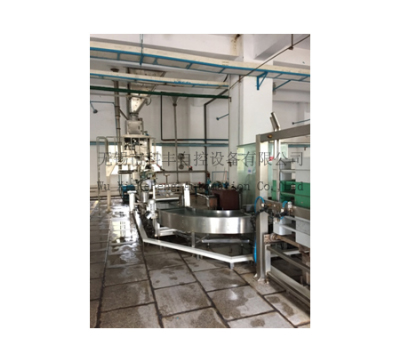 Packing scale specialized for ammonium sulfate production
